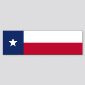 Texas Flag - TX Sticker (Bumper)